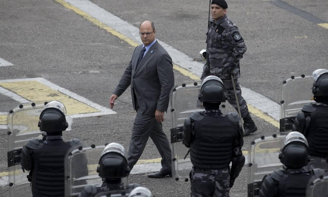 Cargo de general da PM e dos Bombeiros anunciado por Witzel será votado pela Alerj Foto: Márcia Foletto / Agência O Globo