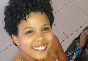 Carla Cristina morreu esfaqueada em uma briga com um vizinho na Gardênia Azul Foto: Arquivo pessoal