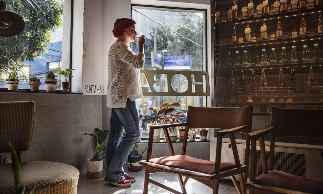 Anna Cafe, Botafogo: divide espaço com sorveteria Hoba Foto: Ana Branco / Agência O Globo