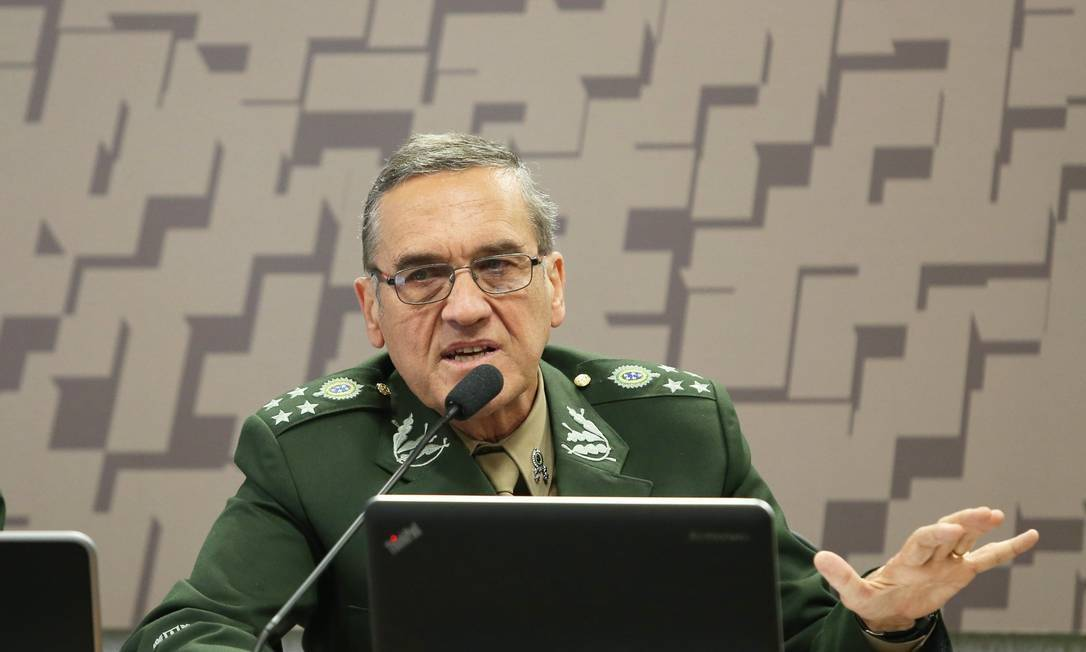 O ex-comandante do Exército general Eduardo Villas Bôas Foto: Foto: Ailton de Freitas/Agência O Globo