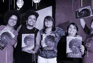 As cinco editoras da