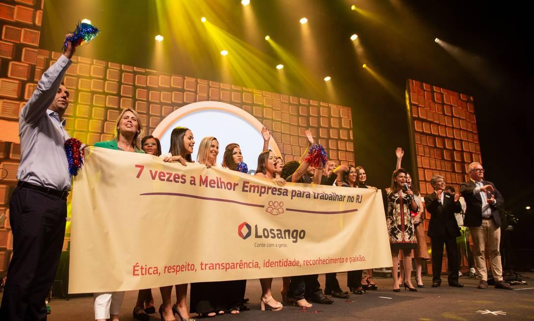 Losango ganhou o primeiro lugar GPTW na categoria Grandes Empresas Foto: BB01 / Divulgação