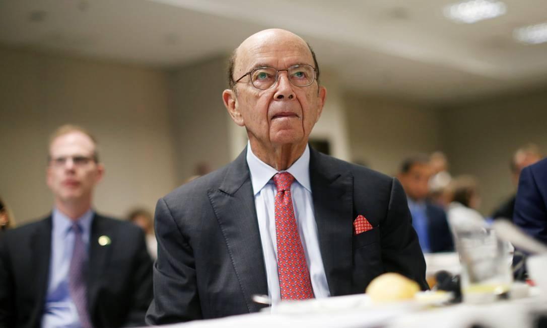 O secretário de Comércio dos EUA, Wilbur Ross, participou do 17º Fórum de Liderança Latino-Americana, em Brasília Foto: ADRIANO MACHADO / REUTERS