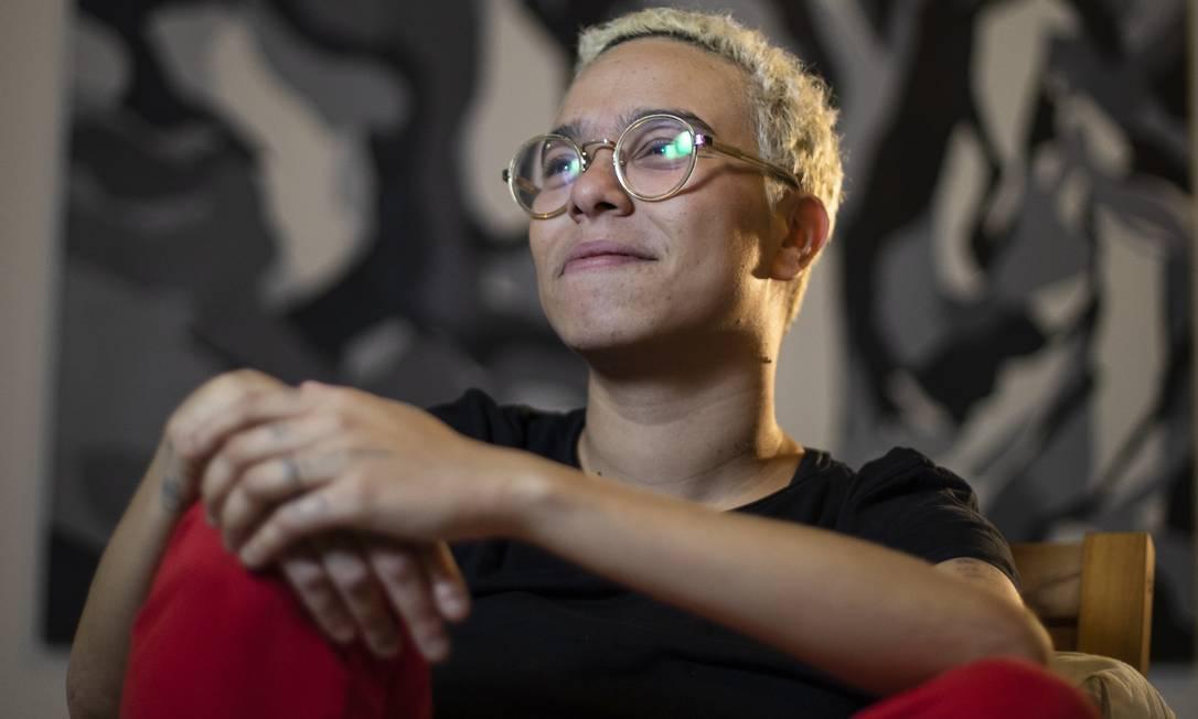 Maria Gadu: 'Podem me chamar de utópica, haribô da MPB homossexual (risos)... Mas acredito num despertar' Foto: GABRIEL MONTEIRO / Agência O Globo