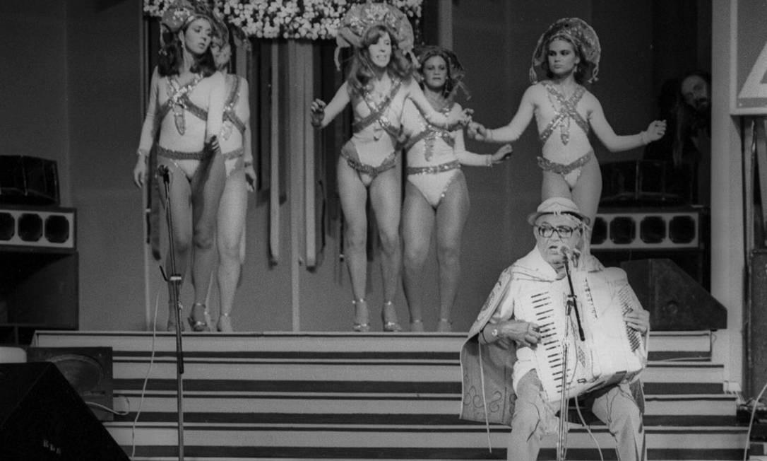 Apresentação no evento Forró in Rio, no Pavilhão de São Cristovão, que foi batizado em homenagem ao músico: Centro Luiz Gonzaga de Tradições Nordestinas Foto: Raimundo Neto / Agência O Globo