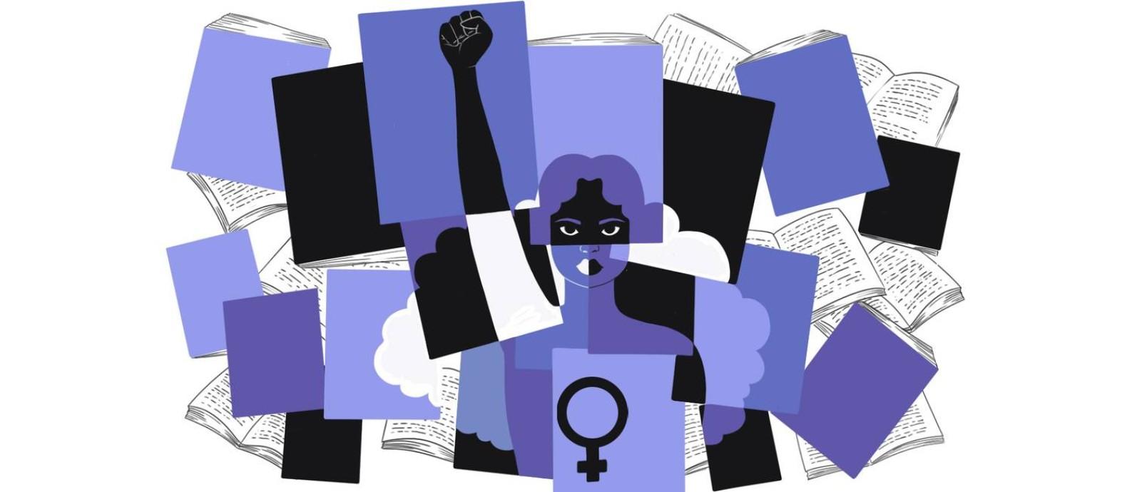 Livros de autoras negras Foto: Arte de Nina Millen