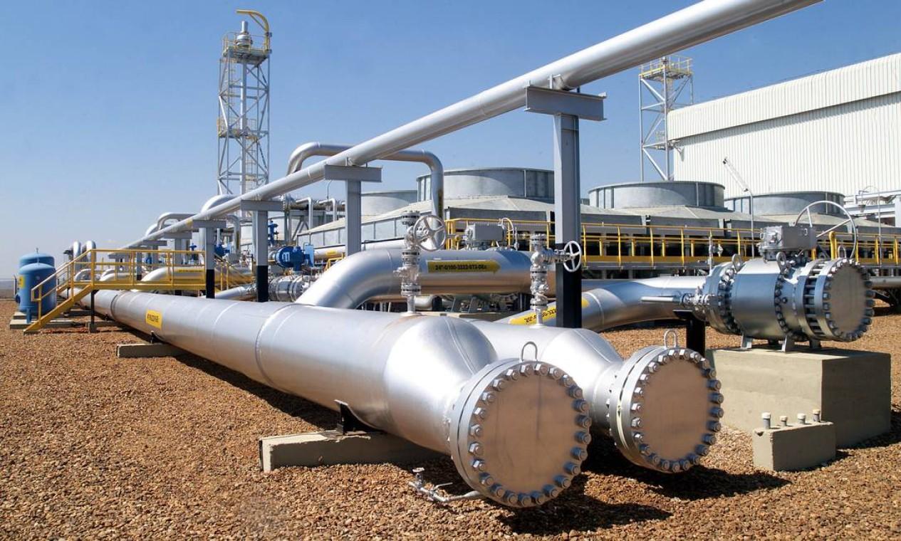 A Petrobras vendeu 90% da TAG, maior transportadora de gás natural do país, para o grupo formado pela francesa Engie e a canadense CDPQ. Embolsou R$ 33 bilhões Foto: Stérfeson Faria / Agência Petrobras
