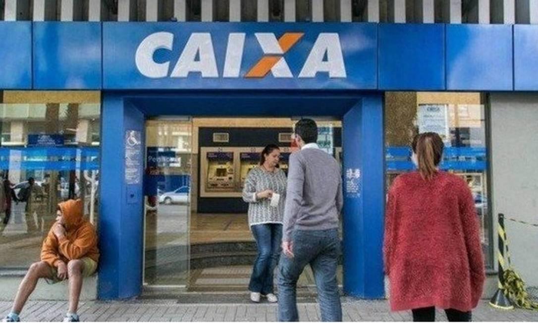 Agência da Caixa Econômica Federal: banco reduziu as taxas de juros em até 40% Foto: Arquivo- Agência O Globo