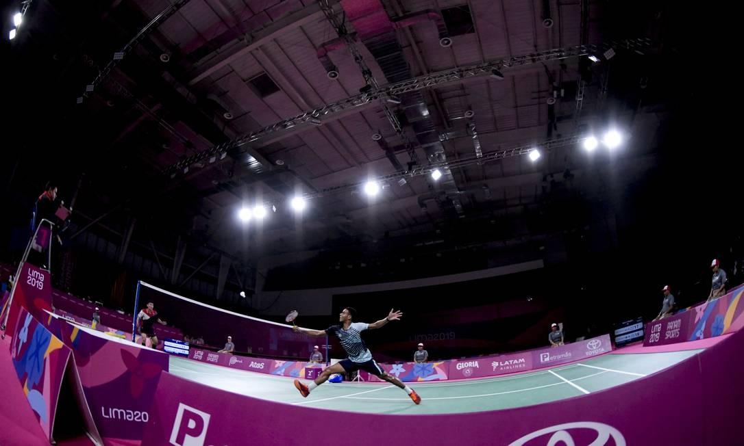 Na final, Ygor enfrentará o canadense Brian Yang. Torneio em Lima conta pontos para a corrida olímpica Foto: Washington Alves / COB
