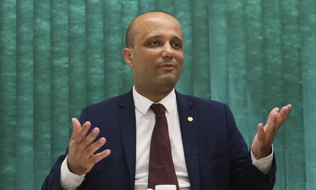 O líder do governo na Câmara, Major Vitor Hugo, do PSL de Goiás Foto: Fabio Rodrigues Pozzebom / Agência Brasil