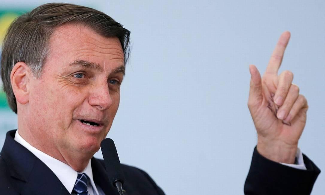 Bolsonaro: corte de alíquotas em jogos eletrônicos. Foto: ADRIANO MACHADO / REUTERS