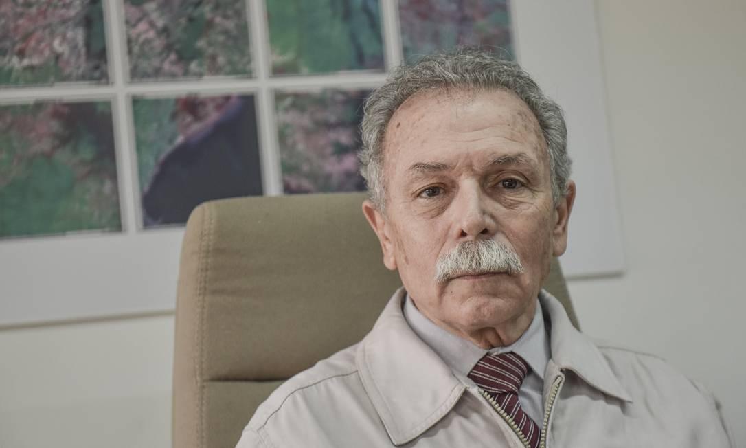 O físico Ricardo Galvão, ex-presidente do Inpe Foto: Lucas Lacaz Ruiz/A13 / Agência O Globo