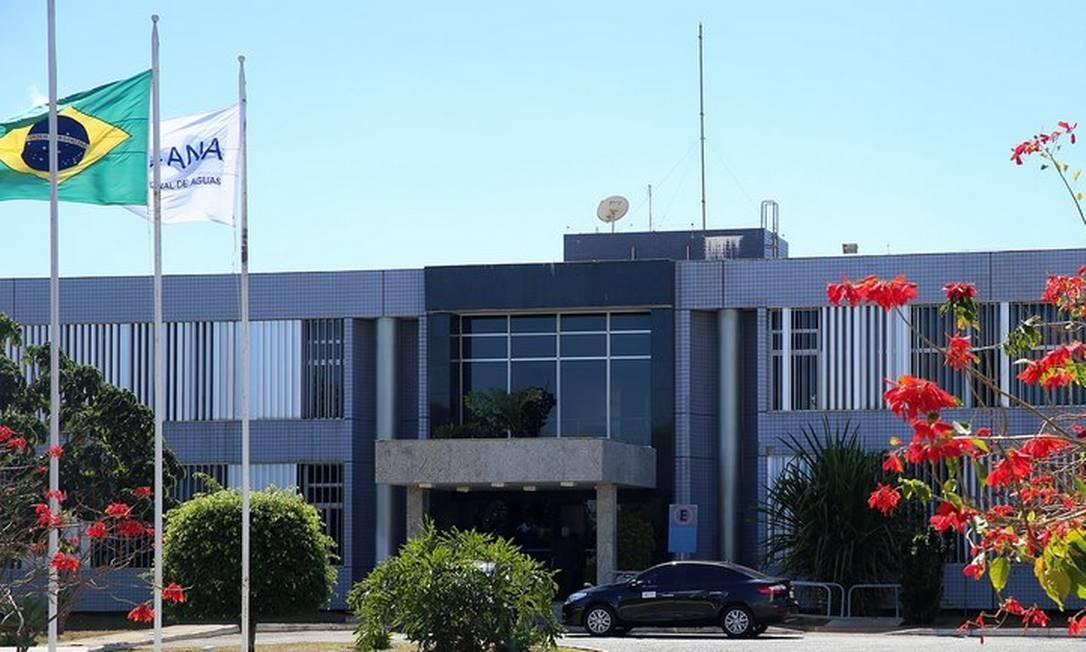Sede da Agência Nacional de Águas Foto: Divulgação/ANA