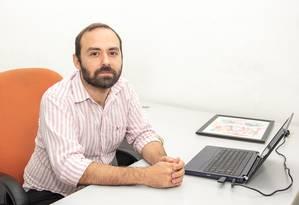 Novo cargo. Victor de Wolf assume a Secretaria de Cultura municipal Foto: Divulgação/Leo Zulluh
