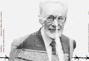 Primo Levi 100 anos Foto: Agência O Globo