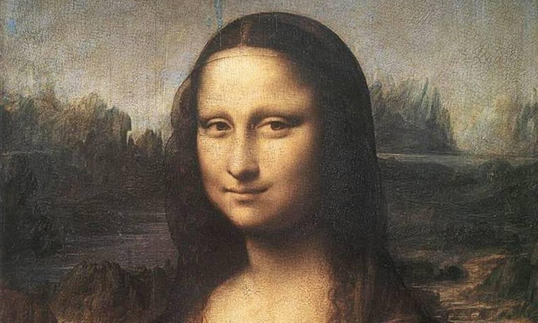 A 'Mona Lisa', de Leonardo da Vinci Foto: Reprodução