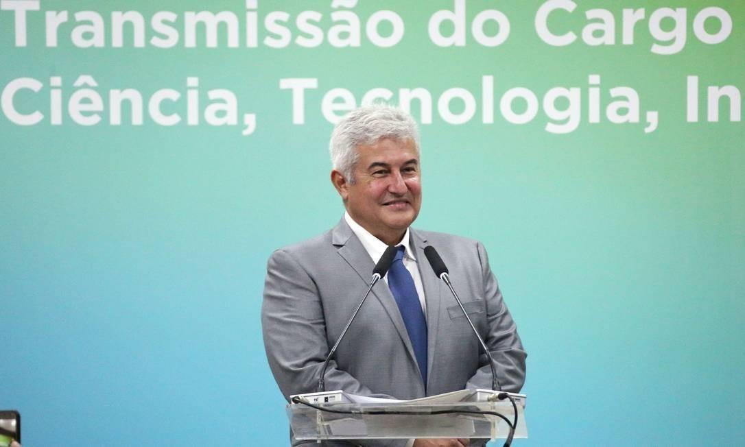 O ministro da Ciência e Tecnologia, Marcos Pontes, vem afirmando que só tem recursos para pagar os incentivemos 'até setembro' Foto: Bruno Peres/MCTIC
