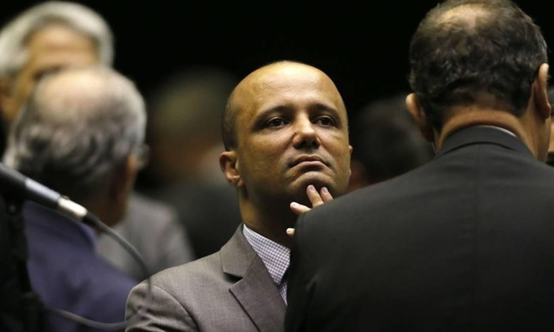 O líder do governo na Câmara, Major Vitor Hugo Foto: Jorge William | Agência O Globo