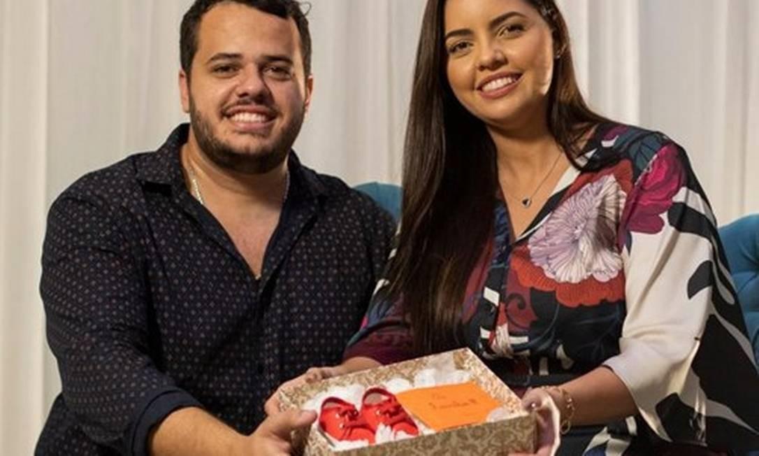 Bruna Guimarães e Mauro Souza fizeram fertilização in vitro e congelaram embriões Foto: Gabriel Monteiro