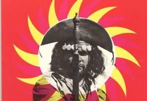 Cartaz de Rogério Duarte para o filme 'Deus e o Diabo na Terra do Sol' Foto: reprodução