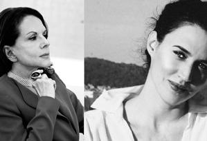 Elizabeth de Portzamparc e Carla Juaçaba: trajetórias distintas que se encontrarão em congresso no Rio Foto: Divulgação / Zoltan Alexander (esq.) e Rafael Pavarotti (dir.)