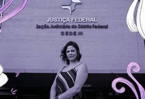 A advogada Natalia de Carvalho teve sapatos checados em escritórios, mas não gostou mesmo foi de ver melhores oportunidades para homens Foto: Daniel Marenco