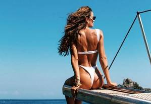 Izabel Goulart: sucesso na web Foto: Reprodução/ Instagram