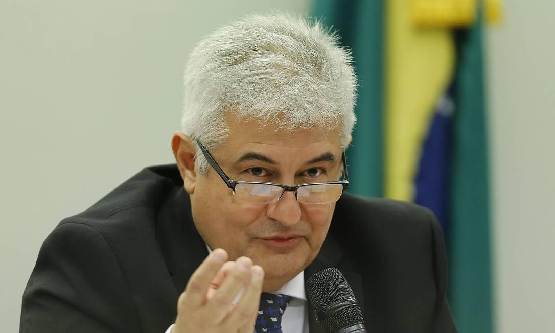 O ministro Marcos Pontes, da Ciência e Tecnologia Foto: Jorge William / Agência O Globo
