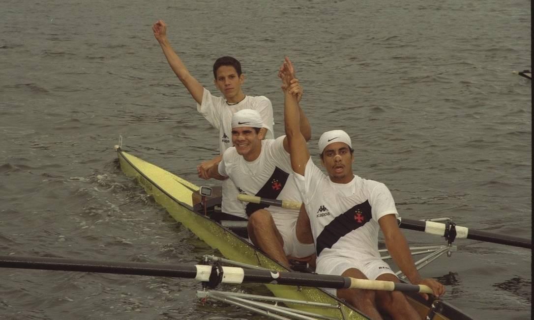 Em 1998, o Vasco foi campeão estadual de Remo Foto: Luís Alvarenga / Agência O Gçlobo