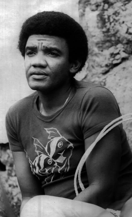 Wilson Simonal retratado em 23 de abril de 1973 Foto: Divulgação