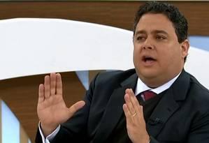 O presidente da OAB, Felipe Santa Cruz, em participação no 'Roda Viva' da TV Cultura Foto: Reprodução / TV Cultura