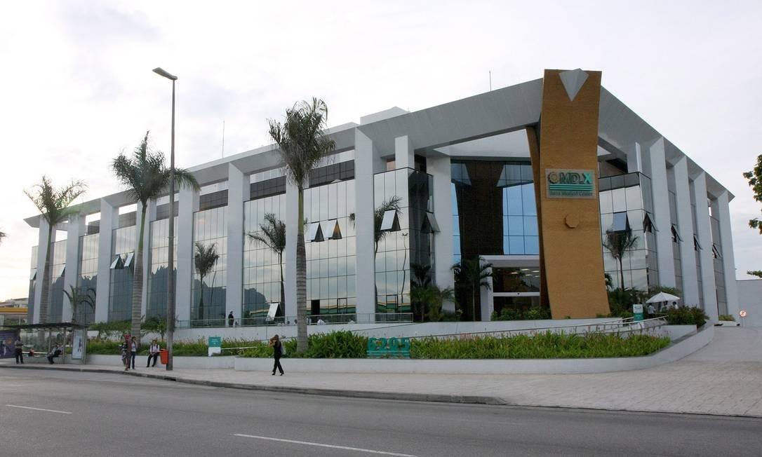 MDX Barra Medical Center, do grupo EBX, hospital na Barra da Tijuca, Zona Oeste do Rio Foto: Terceiro / Divulgação