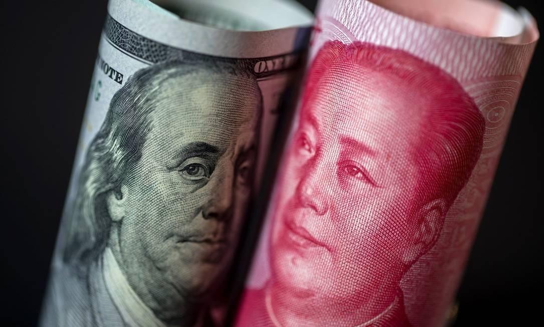 China nega manipular câmbio e diz que acusação dos EUA deve levar caos ao mercado financeiro Foto: / Bloomberg