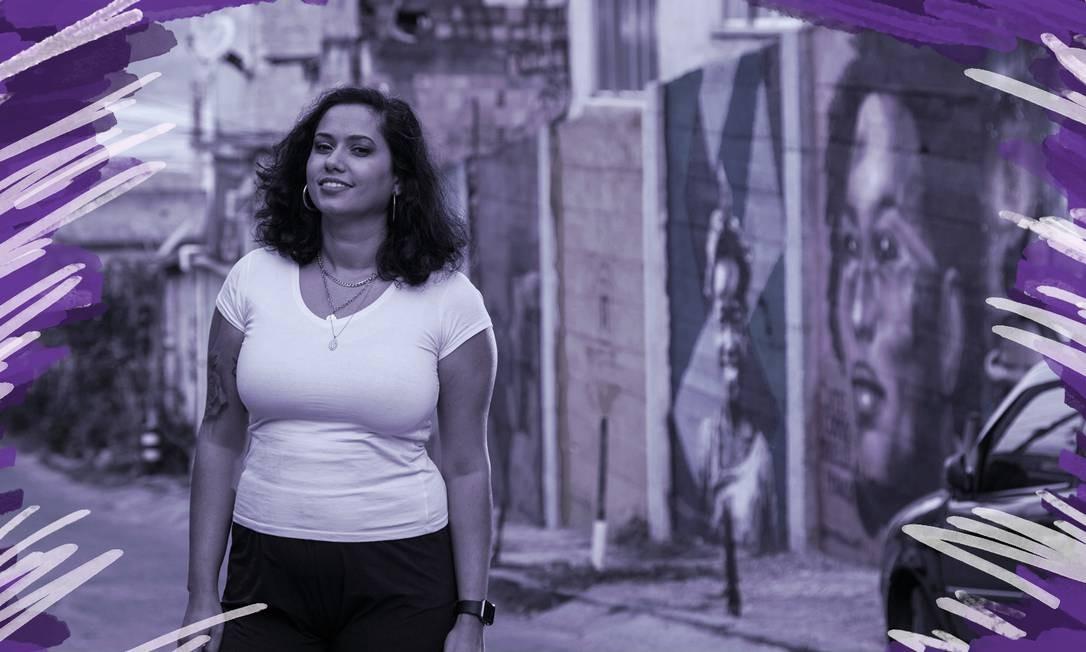 Reconhecida mundialmente, a artista retrata um mundo feminino, mas nem sempre cor-de-rosa Foto: Arte sobre foto de Bruno Kaiuca