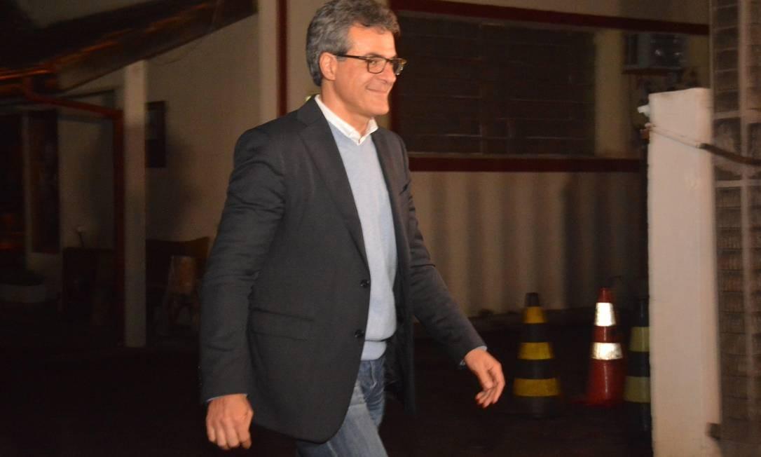 O ex-governador do Paraná Beto Richa, então candidato ao Senado pelo PSDB, foi preso pela primeira vez no dia 11 de setembro de 2018, em Curitiba Foto: Ernani Ogata / Codigo19 / Agência O Globo