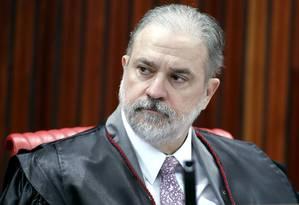 O subprocurador Augusto Aras Foto: Roberto Jayme/TSE