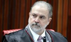 O subprocurador Augusto Aras 02/04/2019 Foto: Roberto Jayme/ Ascom /TSE