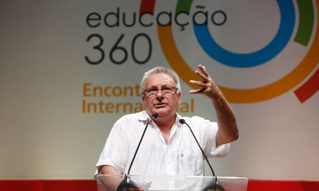 Nelson Pretto participou do Educação 360 em 2015 e retorna ao evento este ano Foto: Pablo Jacob / O GLOBO