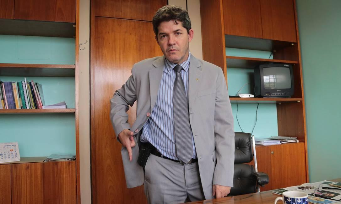 O líder do PSL na Câmara, Delegado Waldir Foto: Aílton de Freitas / Aílton de Freitas/ Agência