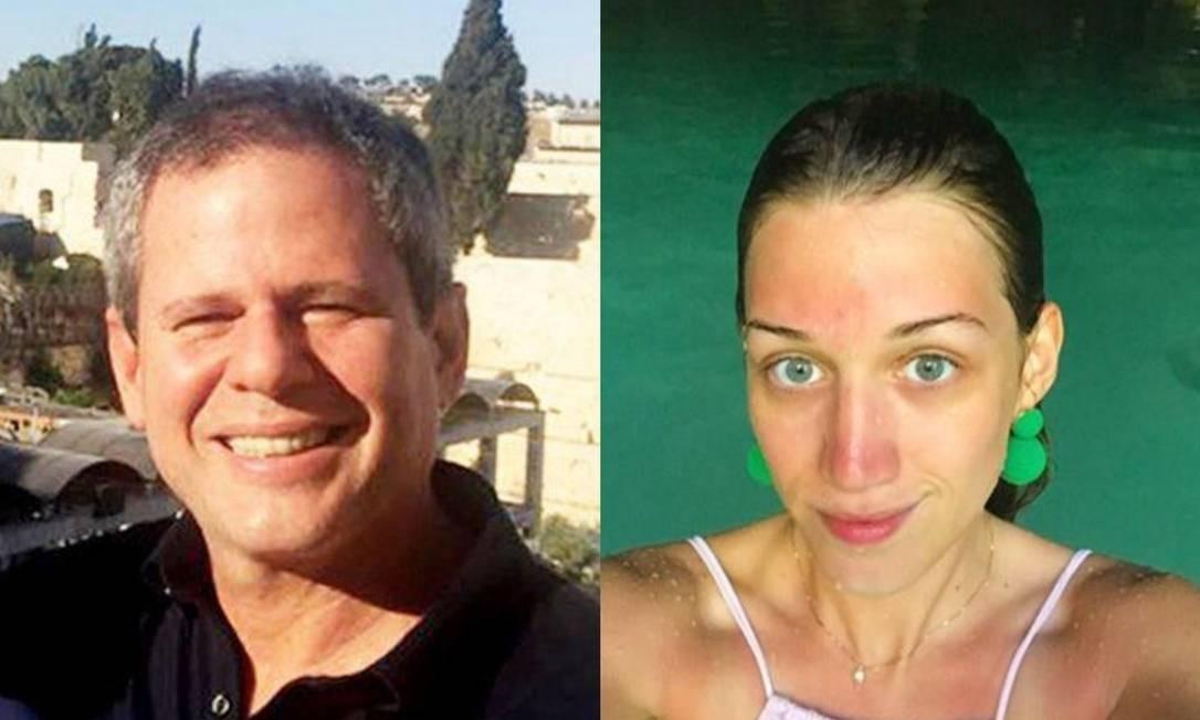 Dario Messer e Myra Athayde Foto: Reprodução