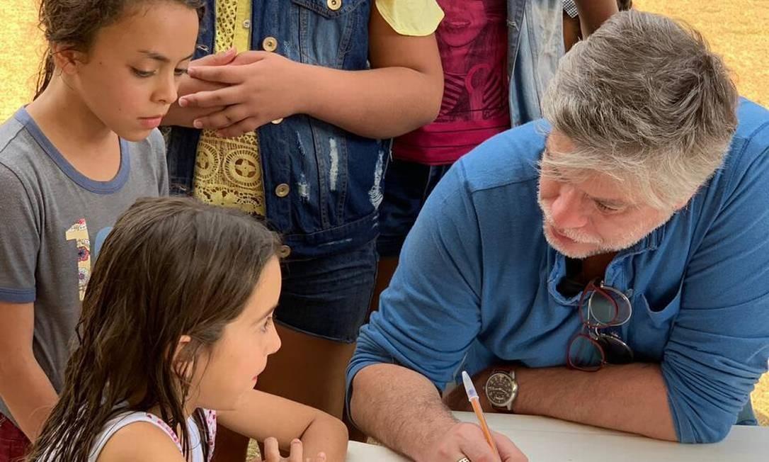 O ator Fábio Assunção Foto: Arquivo pessoal
