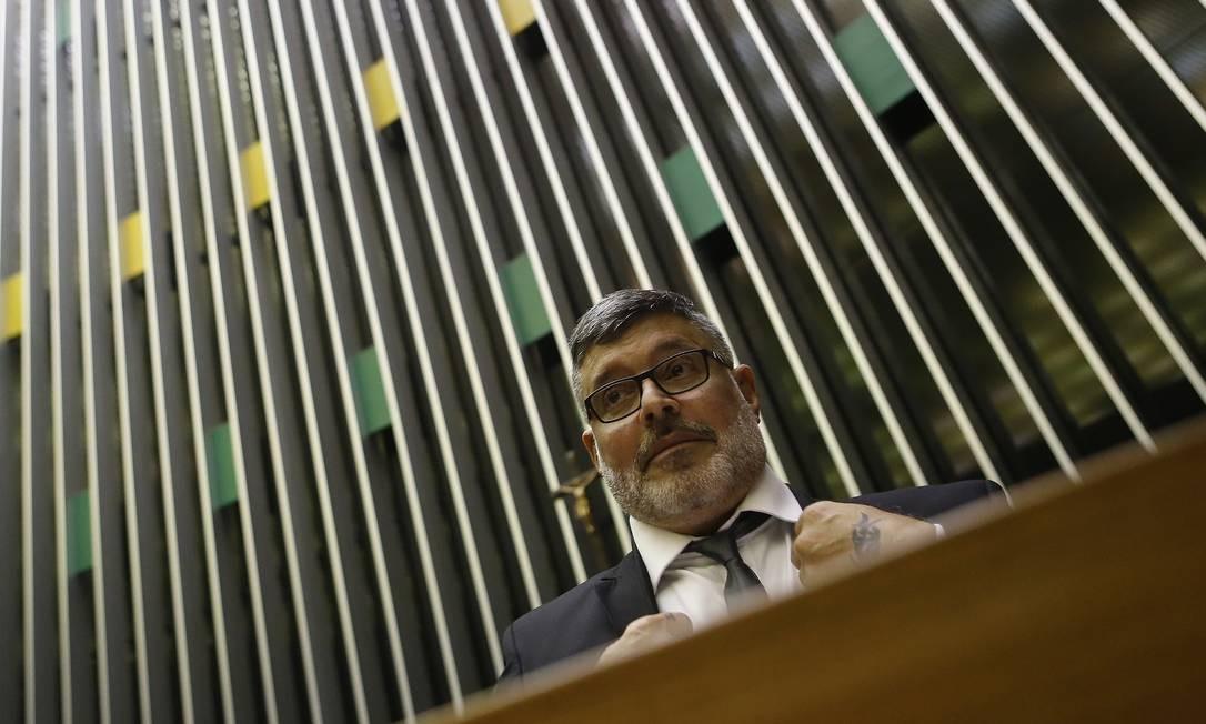 Deputado Alexandre Frota (PSL-SP) Foto: Jorge William / Agência O Globo