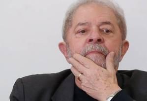 Os advogados do ex-presidente Luiz Inácio Lula da Silva encaminharam pedido de liberdade nesta quarta Foto: Marcos Alves / Agência O Globo