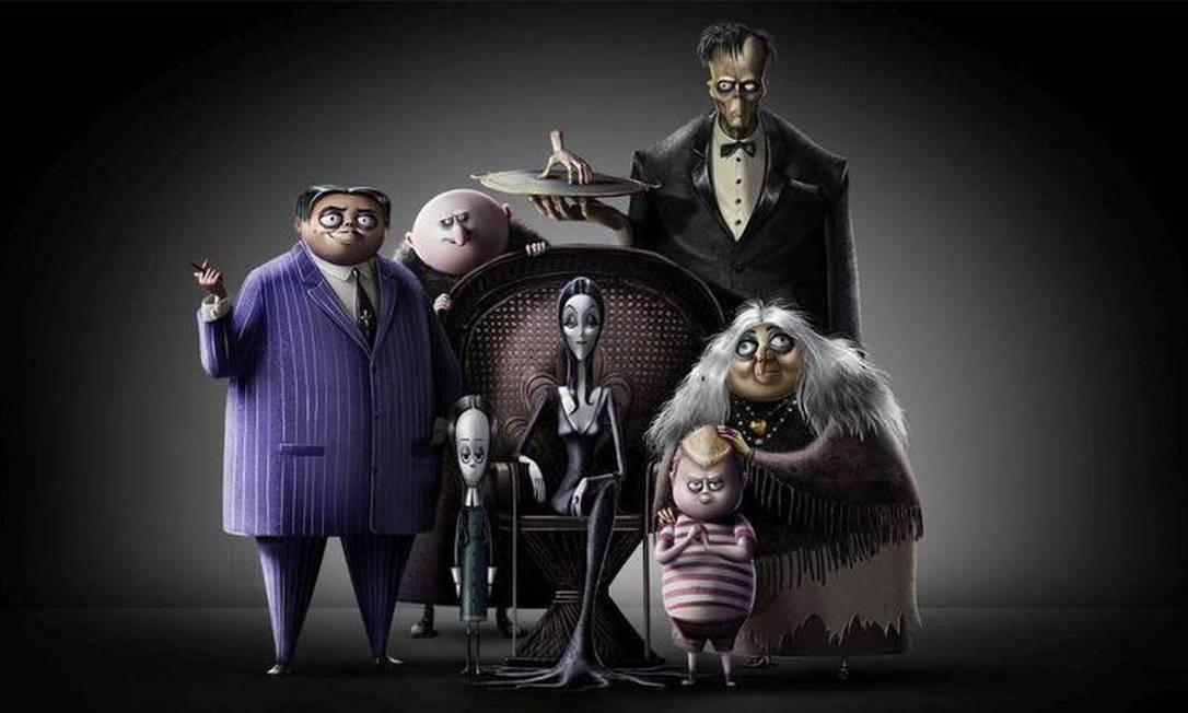 'A Família Addams' Foto: Divulgação