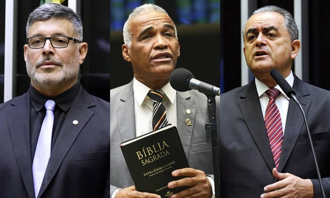 No segundo turno, Alexandre Frota se absteve; Pastor Sargento Isidório (Avante-BA) e Luiz Flávio Gomes (PSB-SP) votaram contra a reforma Foto: Câmara dos Deputados