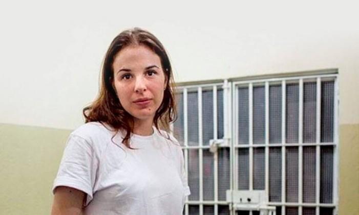 Suzane Von Richthofen, condenada a 39 anos de prisão pelo assasinato dos próprios pais Foto: Agência O Globo