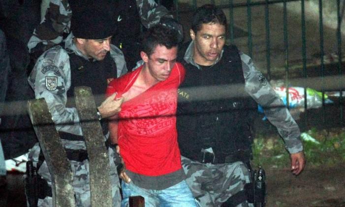 Lindemberg Alves, preso pela morte da jovem Eloá Foto: Clayton de Souza / Agência O Globo