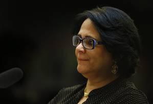A ministra trocou quatro dos sete integrantes da Comissão Foto: Jorge William / Agência O Globo