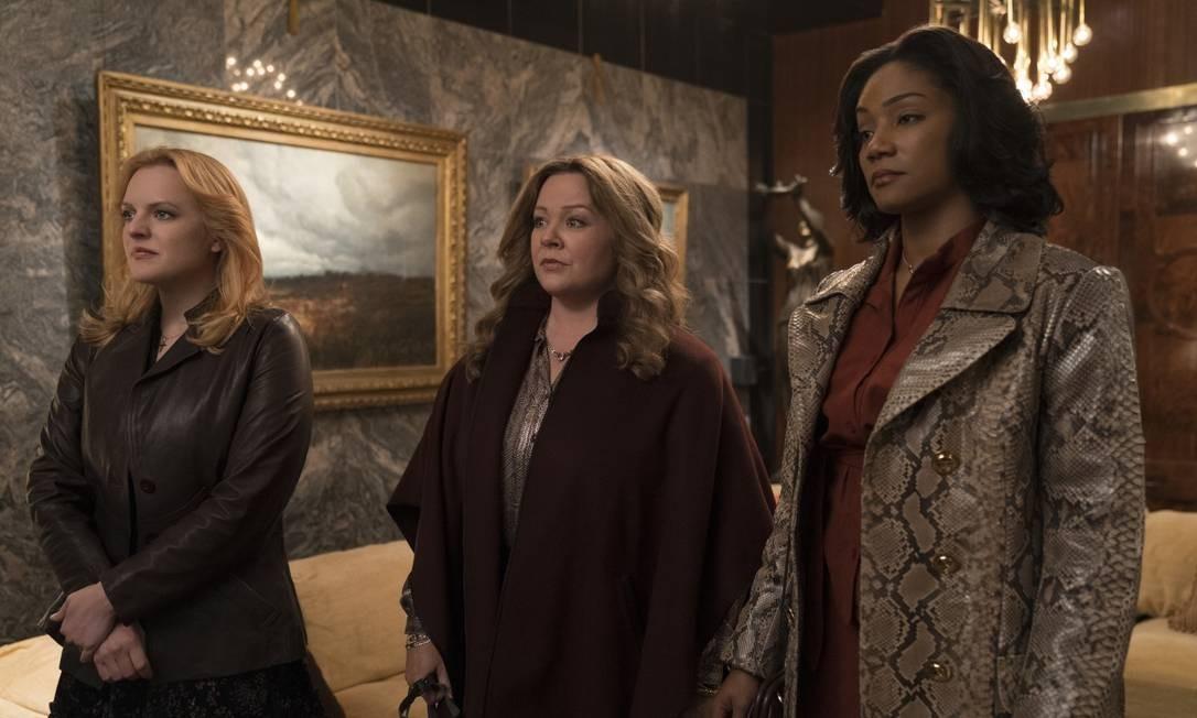 RS - Elisabeth Moss , Melissa McCarthy e Tiffany Haddish no filme As rainhas do crime