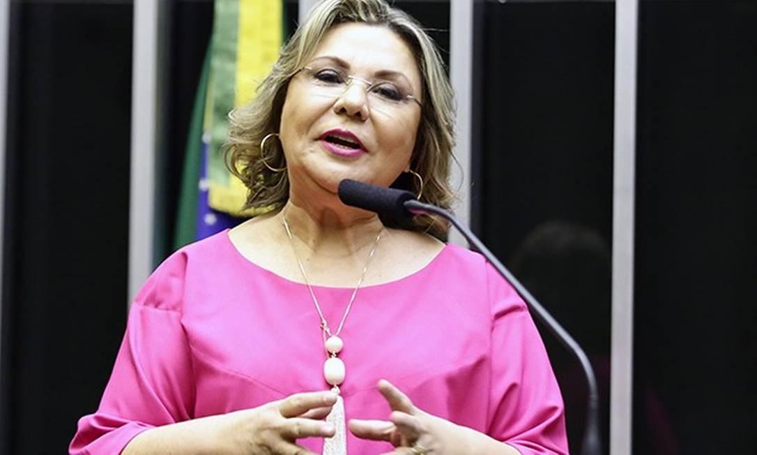 Fechado a favor da reforma da Previdência, o PSDB foi surpreendido pela deputada alagoana Tereza Nelma, que foi contrária à proposta de reforma da Previdência no primeiro turno da votação Foto: Reprodução